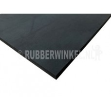 Celrubber plaat EPDM afm. 2.000 x 1.000 x 40 mm.