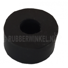 Rubber bus CR50° sh.A ø 31 x ø 12 x 15 mm. hoog