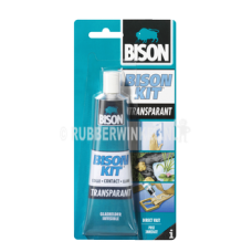 Bison Kit Transparant tube 50ml contactlijm (blisterverpakking).