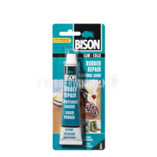 Bison Rubber Repair lijm tube 50ml