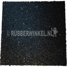 Rubber tegeldrager afm. 100 x 100 x 10 mm.