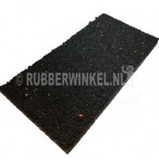 Rubber tegeldrager afm. 200 x 100 x 15 mm.