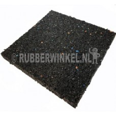Rubber tegeldrager afm. 200 x 200 x 10 mm.